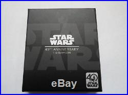 1 troy oz silver proof poster coin niue star wars 40th poster coin rare no 01457