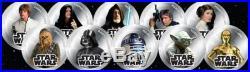2011 Niue Silvered $1 Star Wars Luke Skywalker PF69 UC NGC Coin RARE