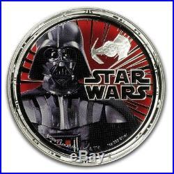 2011 Star Wars Proof Silver 4-Coin Set Niue Darth Vader (Dark Side)