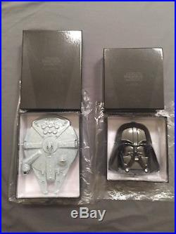 2011 Star Wars Silver Coin Sets Dark Side & Rebel Alliance Niue 8 Coins
