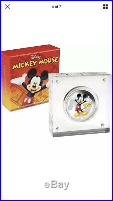 2014 Niue $2 Mickey & Friends Silver Coin Set (6 Coins)