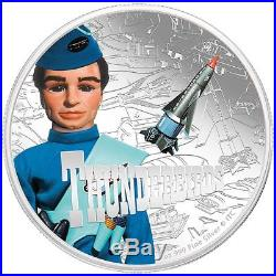 2015 $2 Niue Thunderbirds 1 oz Silver Proof coins full set New Zealand Mint