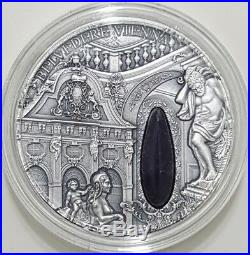 2015 2 Oz Silver BELVEDERE VIENNA Winter Palace Coin 2$ Niue