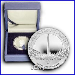 2015 4 Coins Set America's National Monuments NIUE 1 oz Proof Silver WithBox & COA