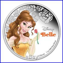 2015 Niue 1 oz Silver $2 Disney Princess Belle SKU #90492