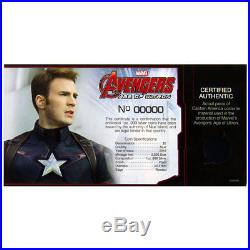 2015 Niue $2 1 Oz Silver Avengers Age/Ultron 5-Coin PF70 UC ER Capt COA SKU37872