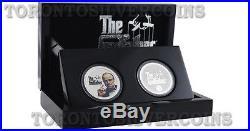 2015 Niue GODFATHER Collectible Coin Set New York Mafia 1 Oz Silver 2 x 2$