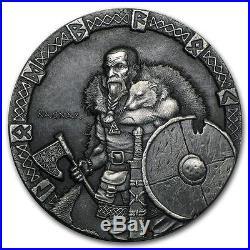 2015 Niue Vikings Series First 3 Coin Sets 3 x 2 oz High Relief Silver Coins