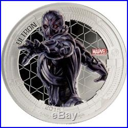 2015 Silver Marvel Avengers Age of Ultron 5 Coin Set 5 oz of Super Hero Coins