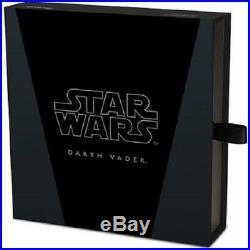 2016 $100 Niue Star Wars Darth Vader 1kg Silver Proof New Zealand Mint