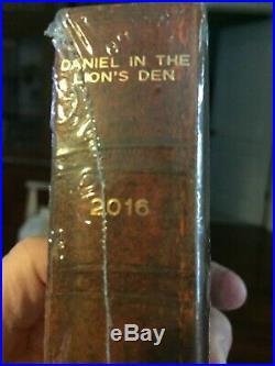 2016 Daniel in the Lion's Den Scottsdale Mint Biblical Series 2oz Silver #214