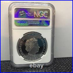 2016 NIUE Disney Frozen OLAF NGC PF70 First Day Of Issue. 1 OZ. Silver Coin
