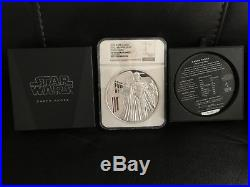 2016 Niue 1 kilo Silver $100 Star Wars Darth Vader Coin PF70 Ultra Cameo