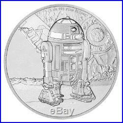 2016 Niue Silver $2 Star Wars Classic R2-D2 PF 70 UC ER NGC Coin RARE