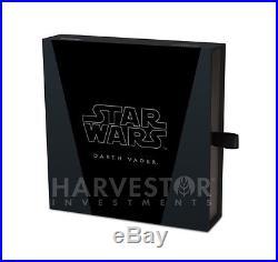 2016 Silver Star Wars Classic Darth Vader 1 Kilo Silver Coin Ngc Pf69 Ucam