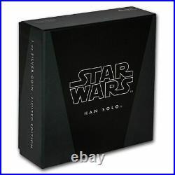 2016 STAR WARS CLASSICS Han Solo 1oz SILVER COIN