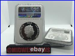 2016 Star Wars NIUE $2 One Oz Darth Vader Silver, Graded By NGC PF70 Ultra Cameo