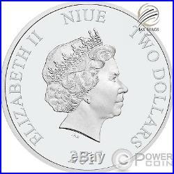 2017 $2 Niue STAR WARS LAST JEDI LUKE SKYWALKER 1oz Silver Coin PCGS PR70DCAM FD