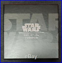 2017 $2 Niue Star Wars Classics Han Solo- 2 Oz. Silver Coin Ogp & Coa