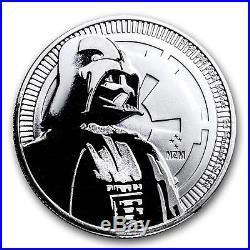 2017 Niue 250-Coin 1 oz Silver $2 Star Wars Darth Vader BU SKU #151418