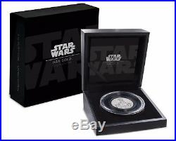 2017 Star Wars Han Solo Ultra High Relief 2 oz Silver Coin 2nd coin