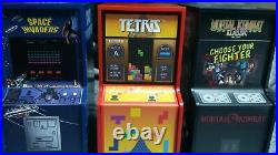 2018-2019-2020 Niue Space Invaders, Tetris, Mortal Kombat 1oz Silver Proof Coins