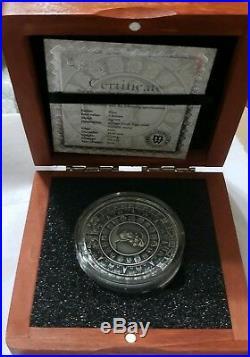 NGC MS70 2018 Niue Mayan Calendar Ancient Calendar 2oz Antique Silver coin