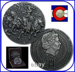 2018 Niue Bellona 2 oz Silver Antique Coin with COA & packaging-Roman Gods series