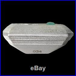 2018 Niue Silver $2 3D Emerald Shape Coin SKU#182364