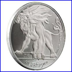 2018 Roaring Lion Silver 1 oz Niue Coin Lot of 10 Direct From Mint Tube