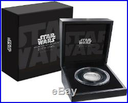 2018 Star Wars Death Star Ultra High Relief 2 oz Silver Coin Coin #5