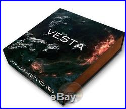 2018 Vesta Meteorite Solar System 1 Oz Silver Coin 1$ Niue