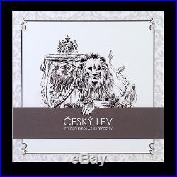 2019 Niue 10 oz Silver Czech Lion BU SKU#187692