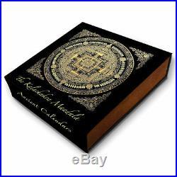 2019 Niue 2 Ounce Ancient Calendars Kalachakra Mandala High Relief Silver Coin