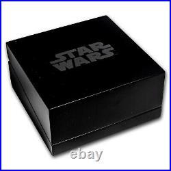 2019 Niue 2 oz Silver $5 Star Wars Darth Vader Helmet UHR SKU#197592