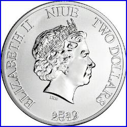 2019 Niue Silver Star Wars Clone Trooper 1 oz $2 BU Five 5 Coins