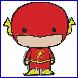 2020 1 Oz Silver Proof Chibi Coin DC Comics THE FLASH (SOLD OUT by The Mint)