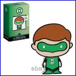 2020 1 oz Colorized Silver DC Comics Green Lantern Niue Chibi Coin
