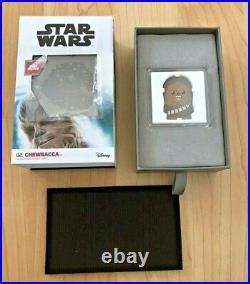 2020 Chibi Coin Star Wars Chewie Chewbacca 1 Oz Silver Apmex