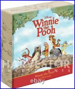 2020 Disney Winnie The Pooh Series Winnie The Pooh 1 Oz. Silver Coin Ogp