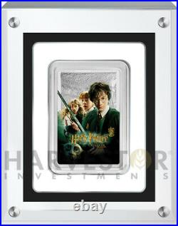 2020 Harry Potter And The Chamber Of Secrets Poster Coin 1 Oz. Silver Coin