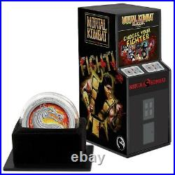 2020 Mortal Kombat 1oz Silver Coin SOLD OUT AT THE MINT