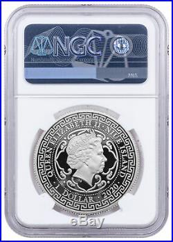 2020 Niue $1 1 oz Silver French Trade Dollar Proof NGC PF70 UC SKU60768