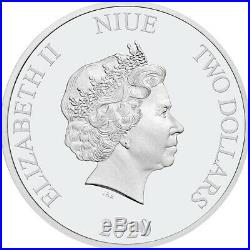 2020 Niue 1 Ounce Mortal Kombat Arcade Game Color Silver Proof Coin