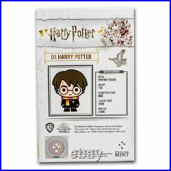 2020 Niue 1 oz Silver Chibi Coin Collection Harry Potter