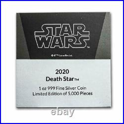 2020 Niue 1 oz Silver Star Wars Death Star (Box & COA) SKU#214058