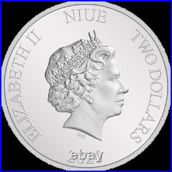 2020 Niue $2 Harry Potter Classic 1 oz. 999 Silver Proof Coin NGC PF 70 UCAM