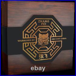 2020 Niue $5 Warriors of Ancient China Zheng Fei 3 oz 999 Silver Coin 500 Made