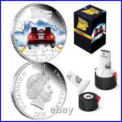 2020 Niue Back to the Future Mr Fusion 35th Anniversary 1oz Silver Proof Coin