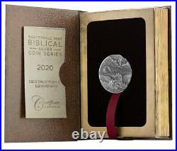 2020 Niue Biblical Coin Series Destruction of Leviathan HR 2 oz Silver
